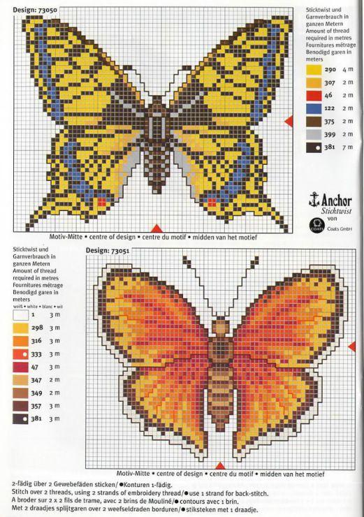 Gallery.ru / Фото #48 - Mariposas - isabelnemet Butterflies side 2