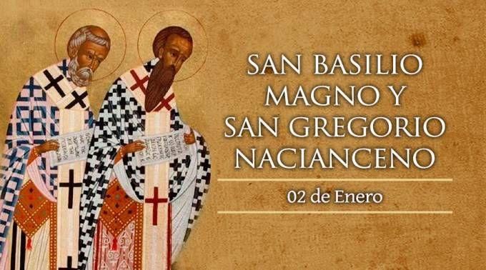 Santos Basilio Magno y Gregorio Nacianceno, Doctores de la Iglesia