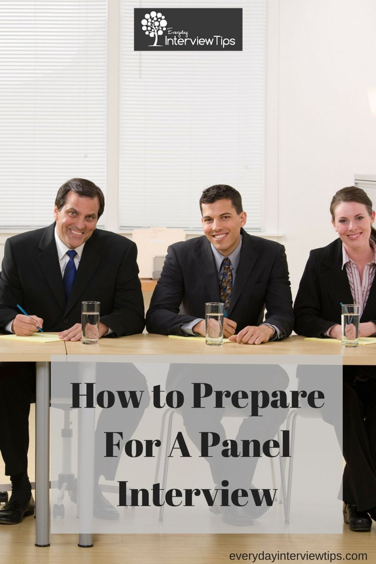 how to prepare for a panel interview