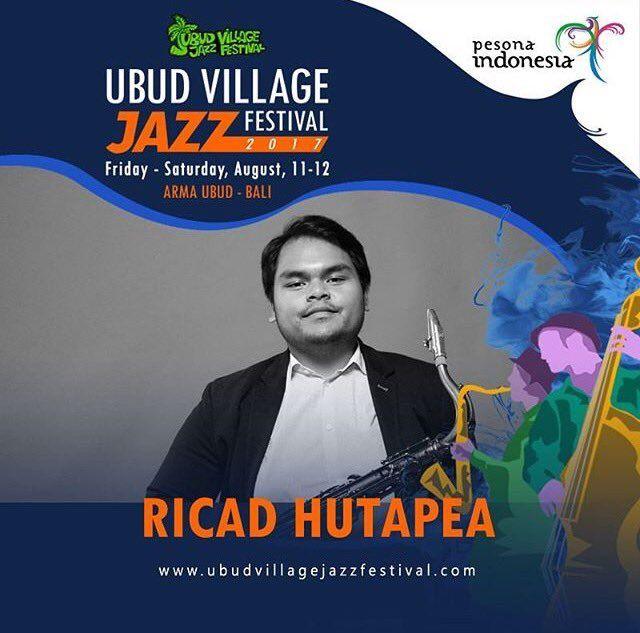 Ubud Village Jazz Festival 11-12 August 2017 Bali, Indonesia