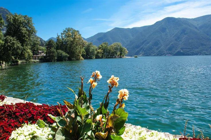 Lago di Lugano-Switzerland