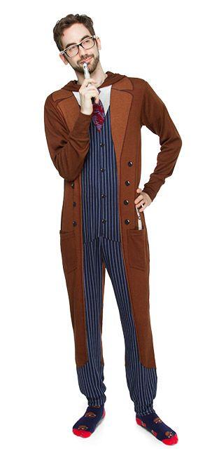Tenth Doctor One Piece Pajamas