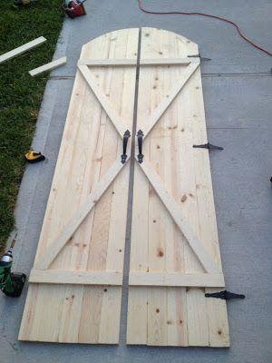 DIY Interior Rustic Barn Doors