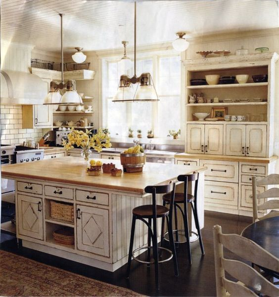1000+ Ideas About White Farmhouse Kitchens On Pinterest