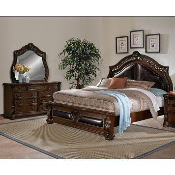 American Signature Furniture Morocco Bedroom 5 Pc Queen Bedroom 1 Buyonlineasf