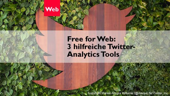 Analytics Tools helfen auch bei Twitter weiter. Hier 3 kostenlose Tools, die dir helfen deinen Account zu optimieren.