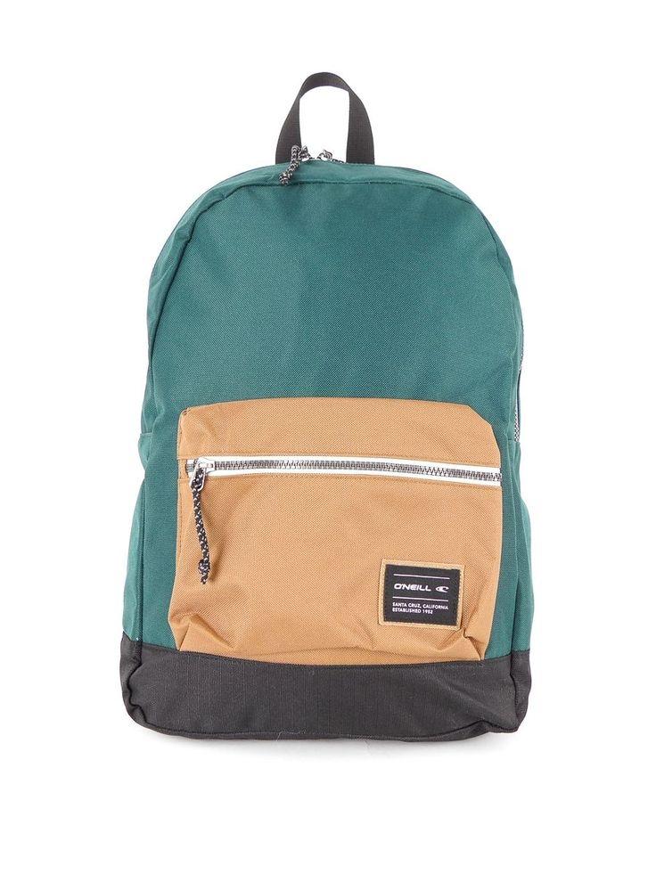 O'Neill Backpack Satchel Coastline Premium green Front pocket 14 Litre | eBay