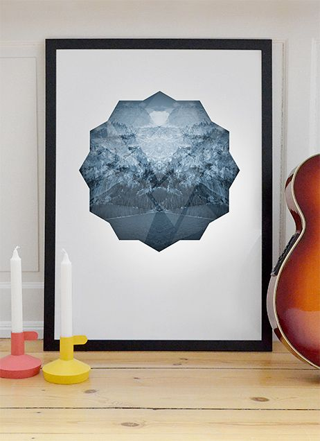 Cold diamond poster