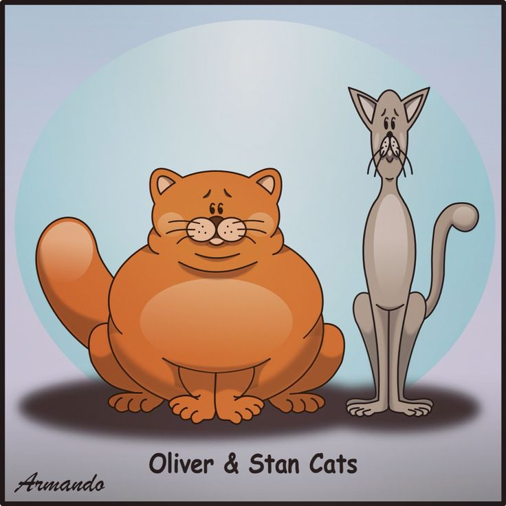 Oliver & Stan Cats