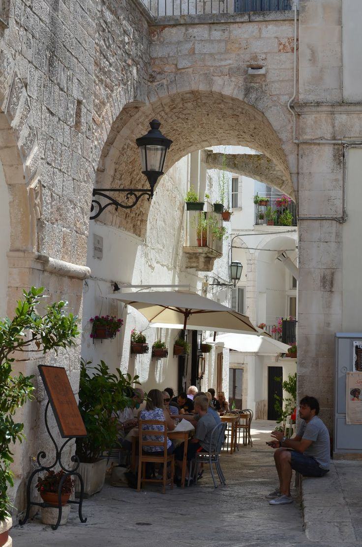 La Taverna Del Duca, Locorotondo, Puglia, Italy. This really is a great little restaurant in Locorotondo's beautiful historical center. Antonella Scatigna is a wonderful cook and her take on the local cuisine is perfect: Simple, traditional and perfectly prepared. Highly recommended!