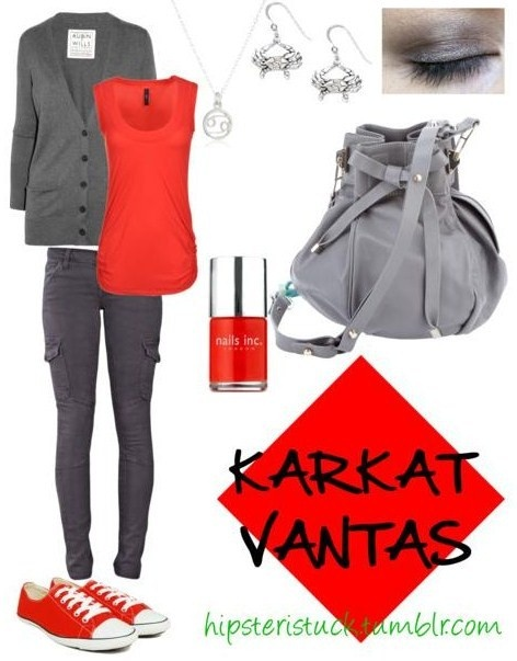 fashionstuck | karkat love his colors and this outfit