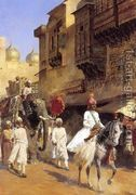 Indian Prince And Parade Cermony  by Edwin Lord Weeks