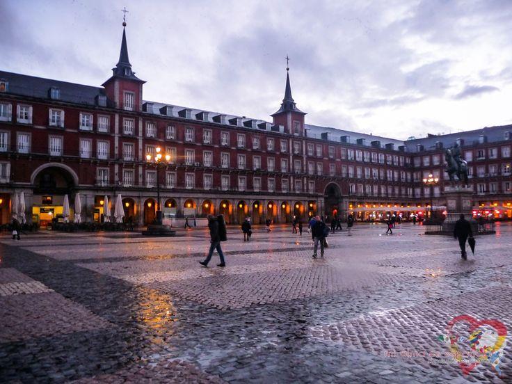 Plaza Mayor de Madrid. Spain.