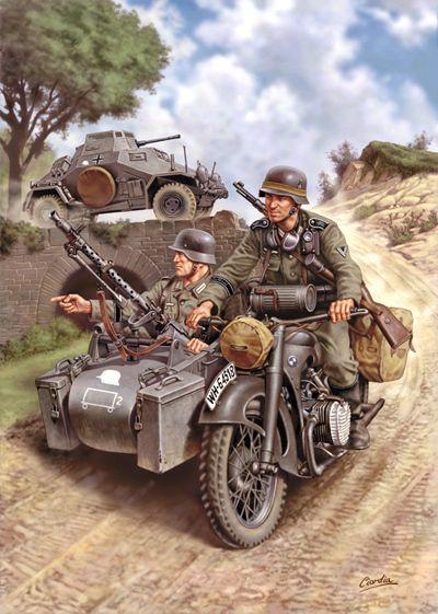 German light armor during the Second World War