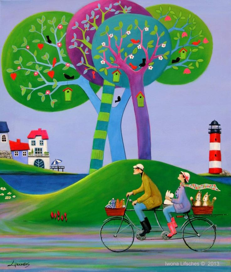 """""""Let's Go Fishing"""" by Iwona Lifsches"""