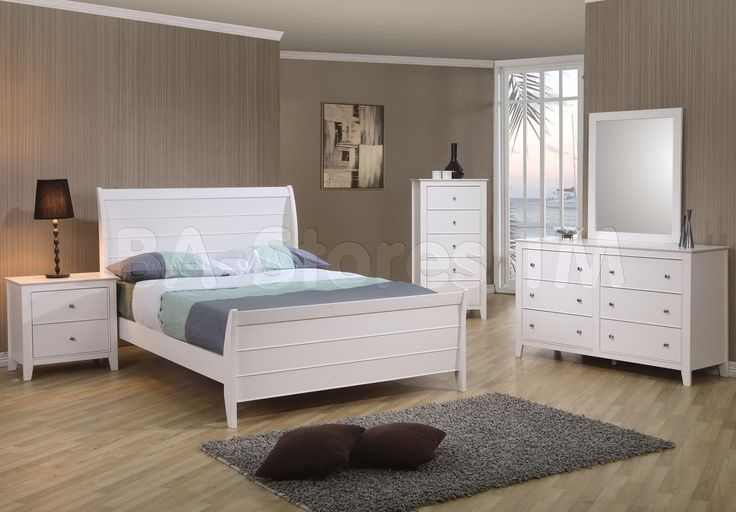 Full Size Bed Sets White