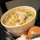 Een heerlijk recept: Jamie Oliver: kikkererwtensoep met prei