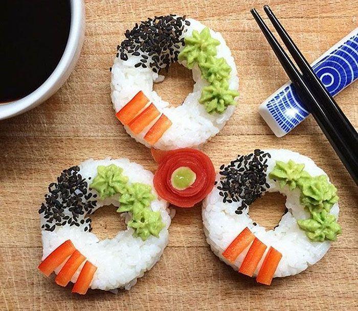 Vai um sushi donut aí?