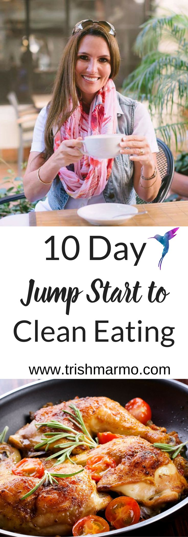 Hey Busy Moms!  Are you ready to free up some time?  Shed unwanted pounds and look and feel your best?  Get ready for summer with my 10 Day Jump Start to Clean Eating Guide. Not only will you learn time-saving tips, you'll have access to the EXACT steps I teach my weight loss clients. Summer is just around the corner, so what are you waiting for?!