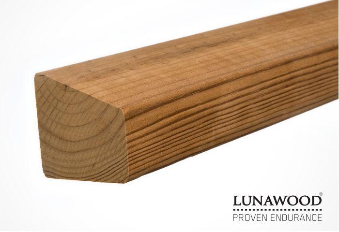 Internal timber cladding feature walls - Lunawood-Half-Parallelogram-Solar-Batten-42×28-42mm