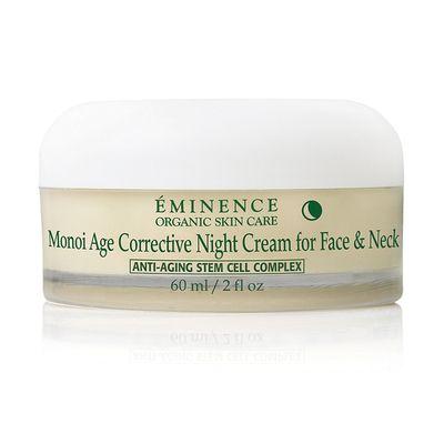 Monoi Age Corrective Night Cream for Face & Neck | Éminence Organic Skin Care