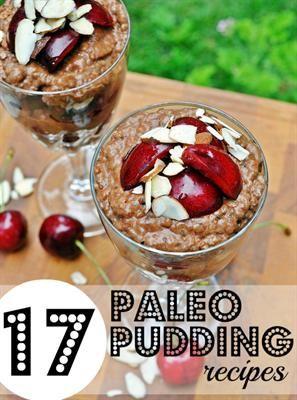 RateYourBurn | 17 Delicious Paleo Pudding Recipes