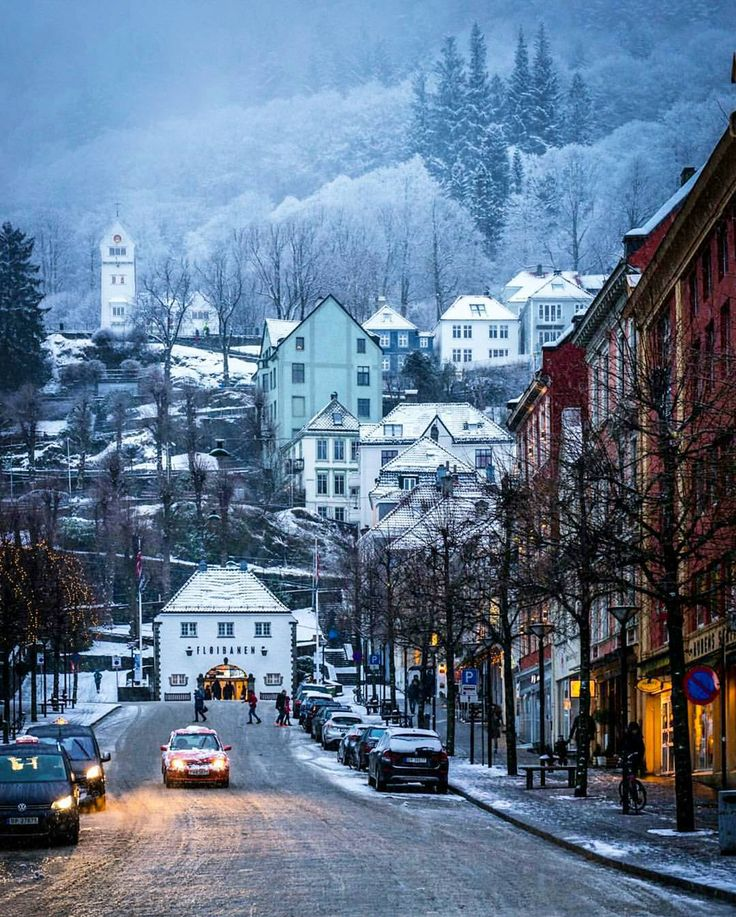 Bergen Norway's Second City and the Gateway to the Fjords. Photo by @mittbergen…