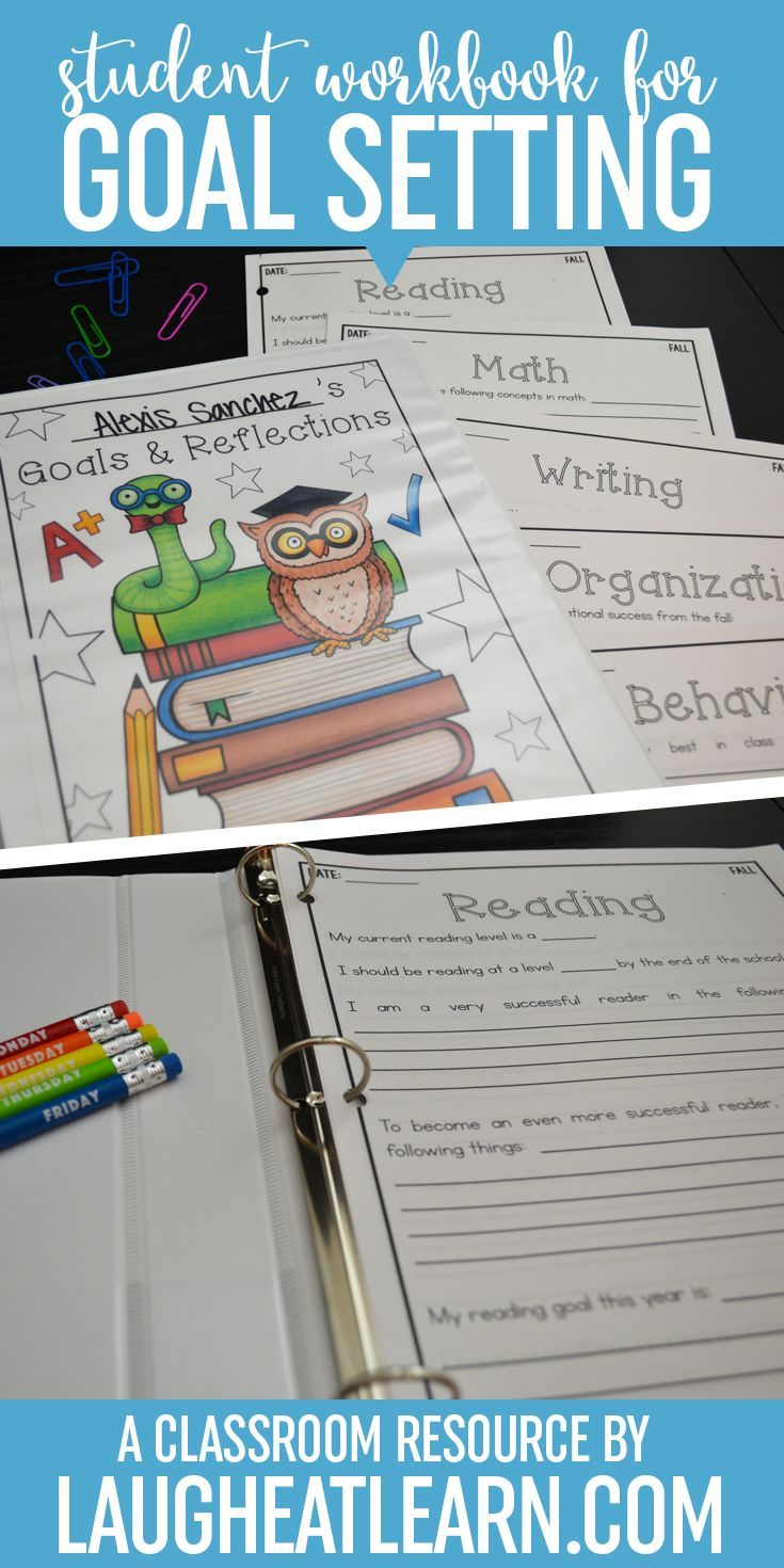 Student should be reflecting on their learning and setting goals for themselves. This workbook sheets helps track, reflect, and set goals for the next quarter of school. These are perfect for parents and teachers, especially during conferences and conferring!