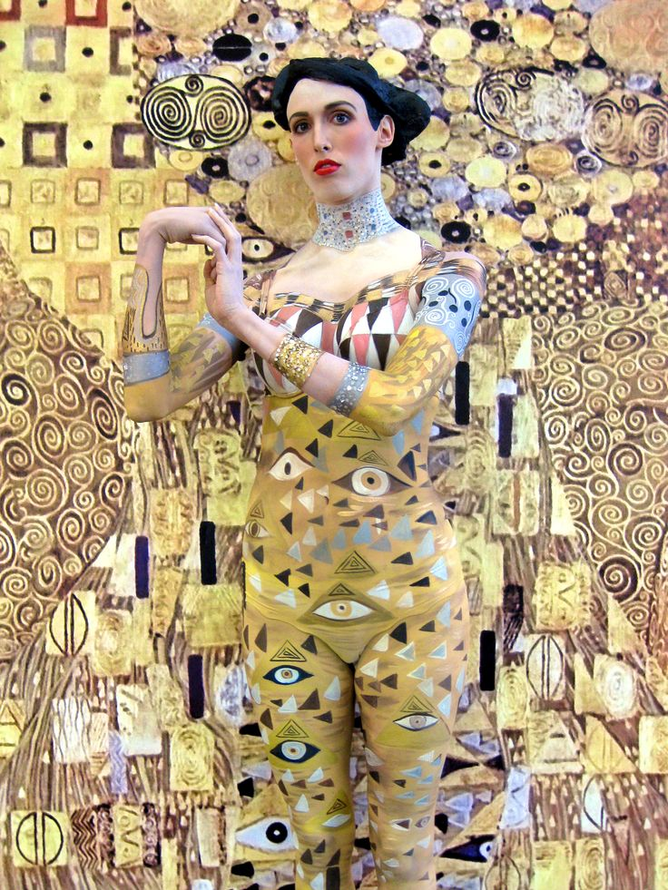 'Klimt' Bodypainting, Concept & Photo: © Mike Shane & Bella Volen