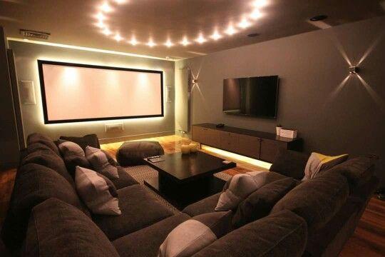 Custom cinema room