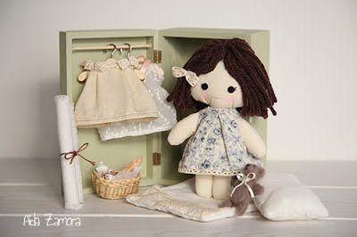 Muñecas de trapo personalizadas y hechas a mano
