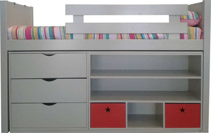 Our Toddler Loft is the perfect space saver that is low enough for you to tuck your little one in at night.
