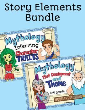 Greek Mythology Story Elements Bundle integrates Greek Mythology with story…