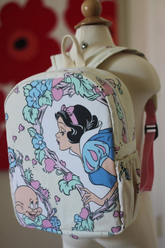 Toddler BackPack Disney Snow White (Medium) | Pinterest ...