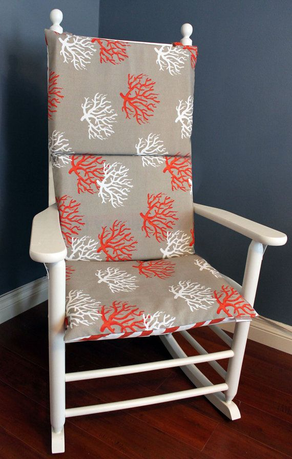 rocking chair pad etsy rocking chair covers cushions rocking chair