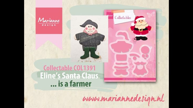 How to make a Farmer of the COL1391 Santa Claus by Eline