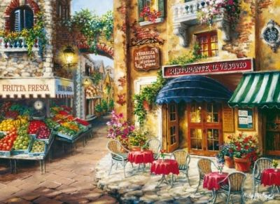 Puzzle Clementoni High Quality Collection Όμορφο Εστιατόριο 3000 Κομμάτια