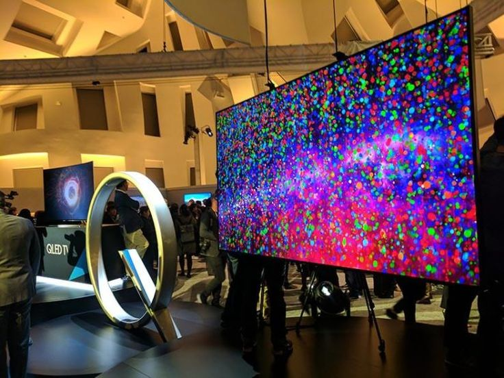 Samsung QLED TV CES 2017
