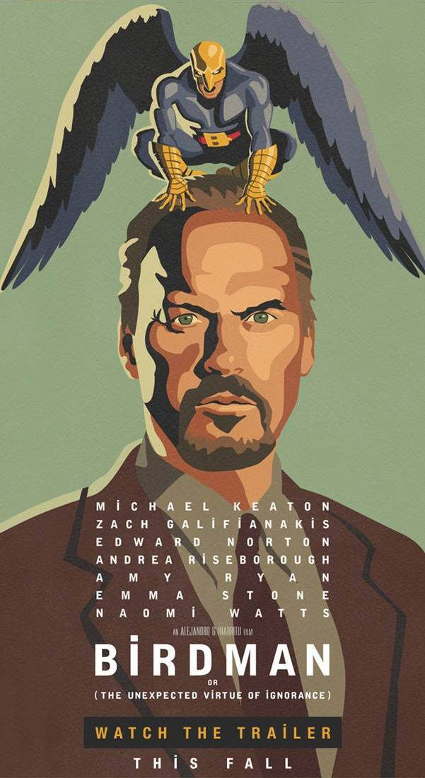 Michael Keaton Plays A Superhero Has-Been in Teaser for Inarritu's 'Birdman'|Filmmakers,Film Industry, Film Festivals, Awards & Movie Reviews | Indiewire