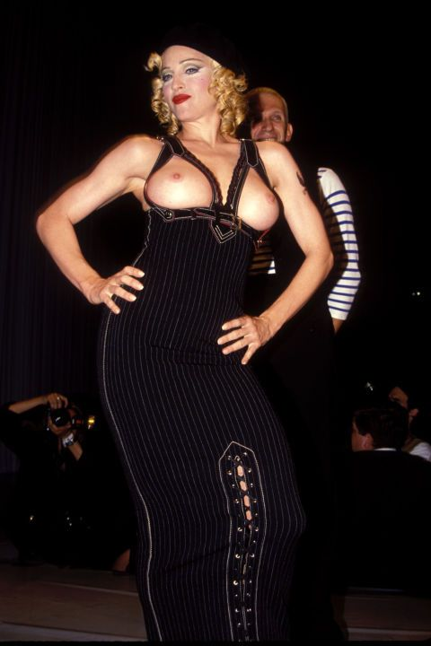 19 celebrities who have walked down the fashion runway before: Madonna