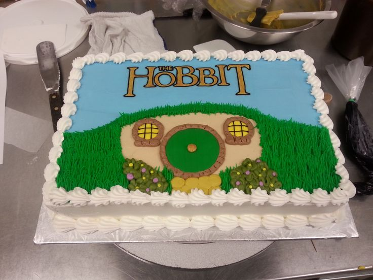 Images Of Hobit Cakes