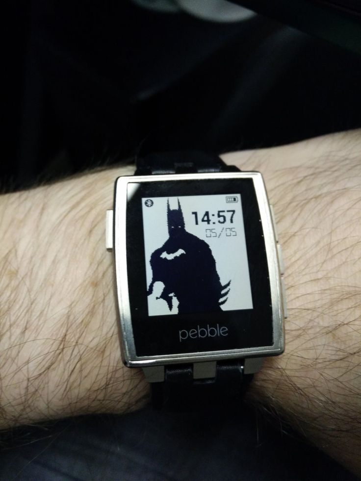 #pebblewatch #batman