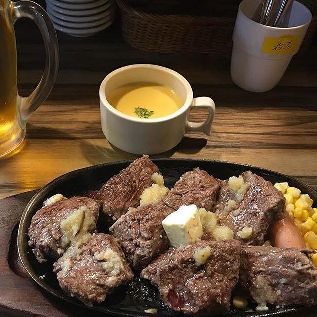 #食#グルメ#肉#ステーキ#1ポンド#エビス#エビスビール#飯テロ#俺の好物#男臭い#男飯#tokyo#omotesando#shibuya#shinjuku#harajuku#insta#roppongi#aoyama#men#daikanyama#hiroo#ebisu