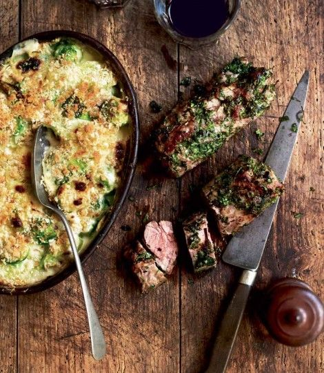466733-1-eng-GB_herb-crusted-lamb-with-a-gratin-of-leeks-and-brussels-sprouts