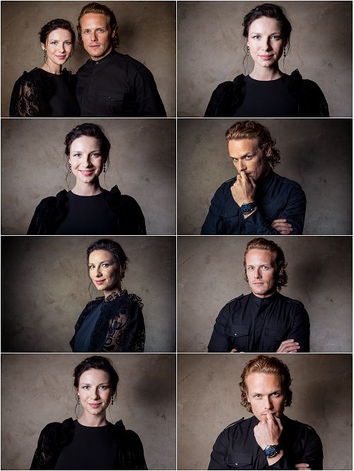 """ffaupdates: """" Site Update: Outlander Cast - 6/08/16 [15 HQ Tagless Photos] Please consider a reblog to help spread awareness of our galleries. """""""