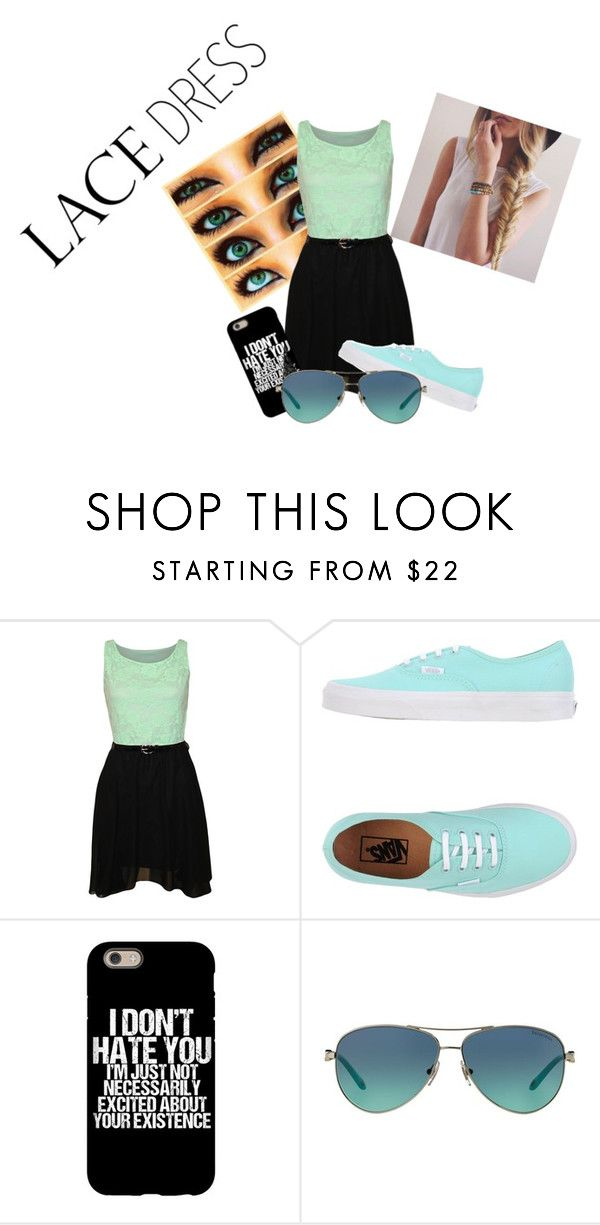 """MWHAHAH BLU"" by galaxysea on Polyvore featuring WearAll, Vans, Tiffany & Co. and lacedress"