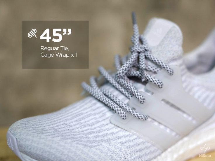 Wrap it once . . Who knew we could wrap our laces through the cage? . . Tips for boosting your Ultraboost #shoes #sneakers #adidas #ultraboost #laceswap #fashion // See more on our page : www.facebook.com/hisolethailand