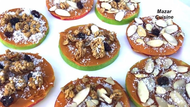 Healthy And Easy Snack Idea For Weight Loss Diet, شیرینی رژیمی Apple & P...