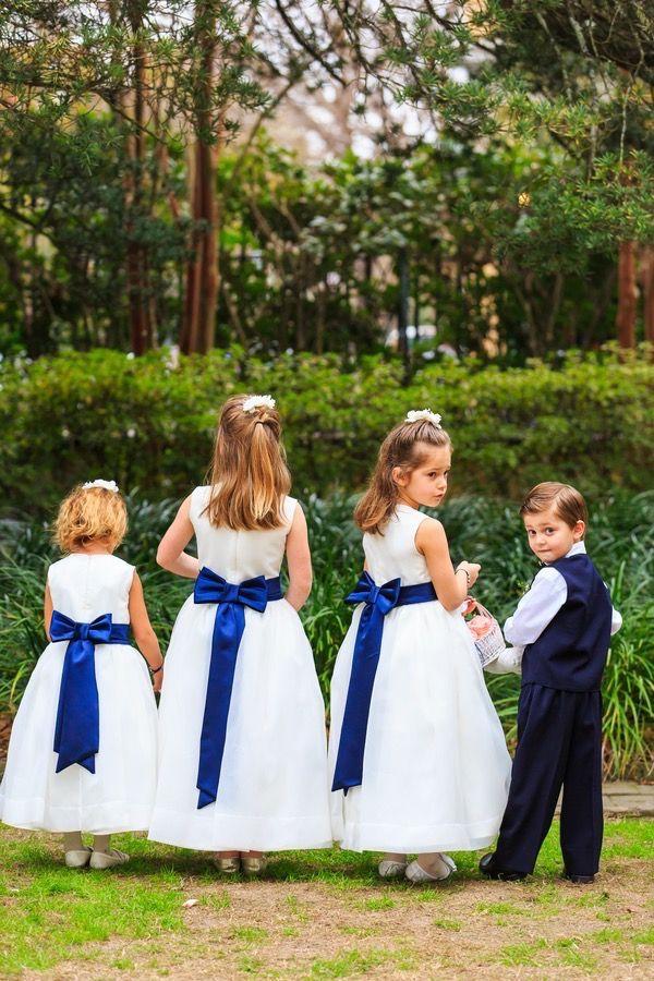 Historic Courtyard Wedding in Downtown Charleston #wedding #flowergirl