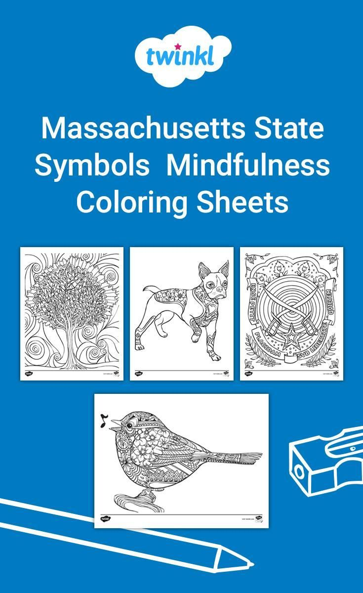 Massachusetts State Seal coloring page | Free Printable Coloring Pages | 1200x735